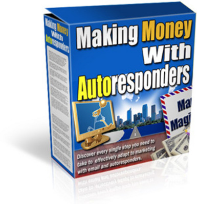 Product picture Making Money with Auto Responders w/mrr