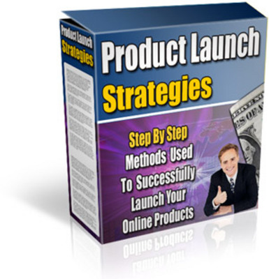 Product picture Product Launch Strategies w/mrr