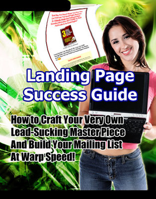 Product picture Landing Page Success Guide w/mrr