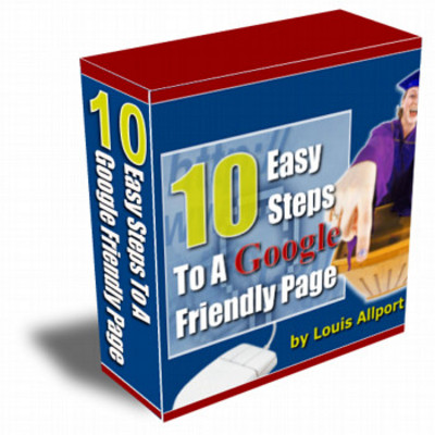 Product picture 10 Easy Ways to a Google Friendly Page