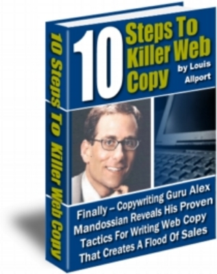 Product picture 10 Steps to Killer Web Copy