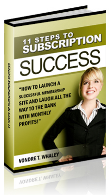 Product picture 11 steps to subscription success w/mrr