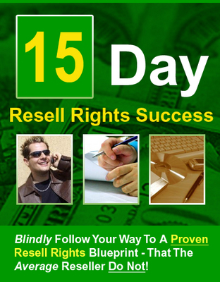 Product picture 15 Day Resell Rights Success w/mrr