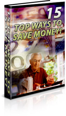 Product picture 15 Tops Ways to Save Money w/mrr