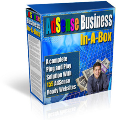 Product picture Adsense Business in a Box w/mrr